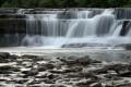 Wasserfall im Gartenteich